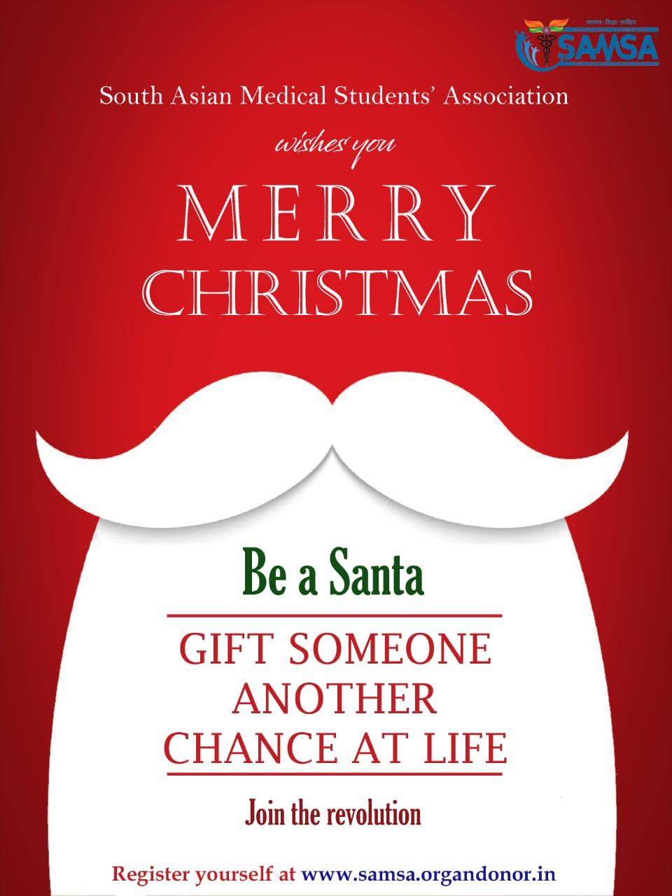 Be a Santa. Gift a Life