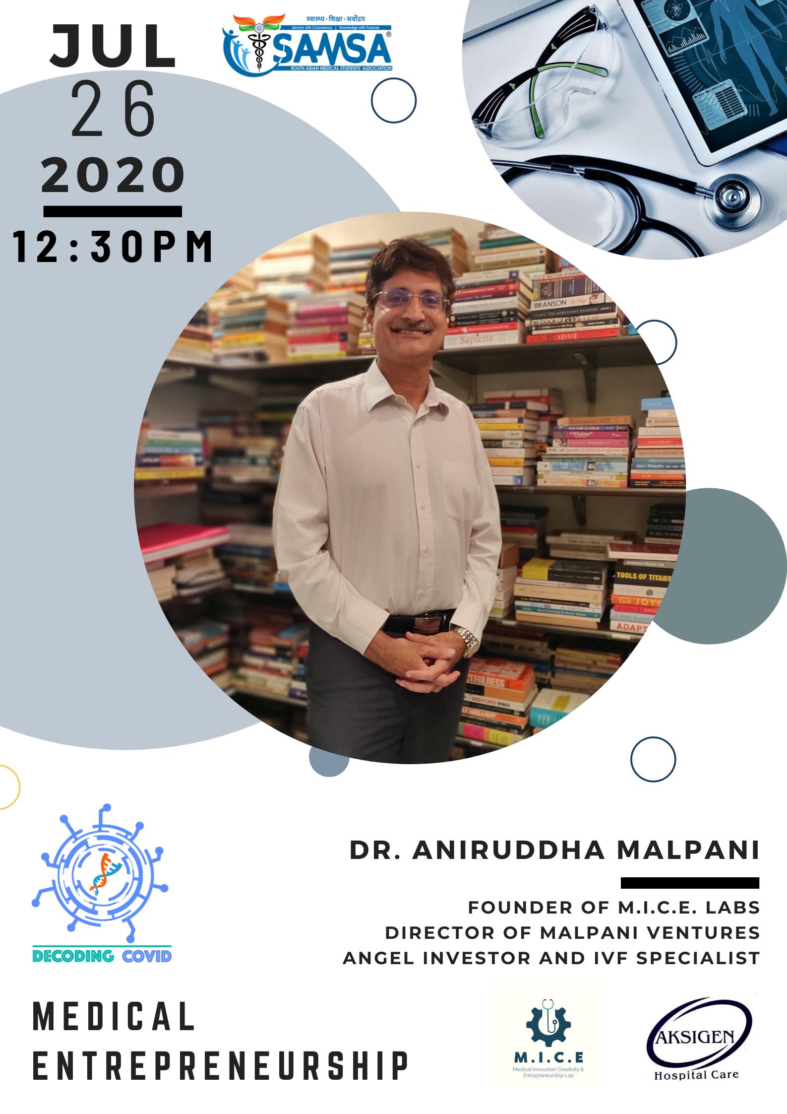dr aniruddha